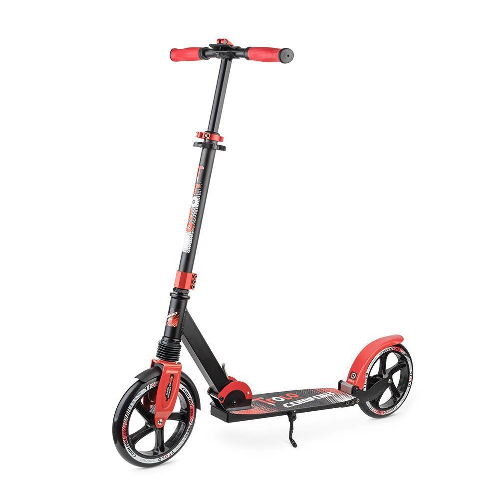 Самокат Trolo Comfort red/black
