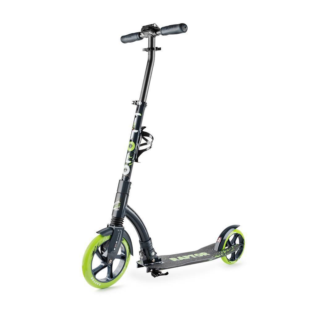 Самокат Trolo Raptor 230+180 green-graphite 2017 10%
